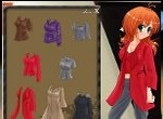 Obliekanie modelky