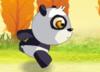 Panda race the turtoise