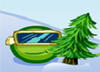Hrášok na lyžiach 2