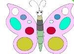 Vymaľuj: Motýľ