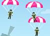 Strieľanie parašutistov
