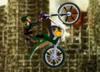 Solider On Bike On Destroyed City